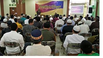 Pelatihan Pengurusan Jenazah MenurutMadzhab Imam Syafi'i